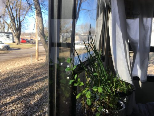 How i insulated our rv windows for winter for Windows for cold climates