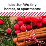 12 Space Saving Holiday Decor Ideas For Rv S Tiny Houses And Small Apartments Rv Inspiration