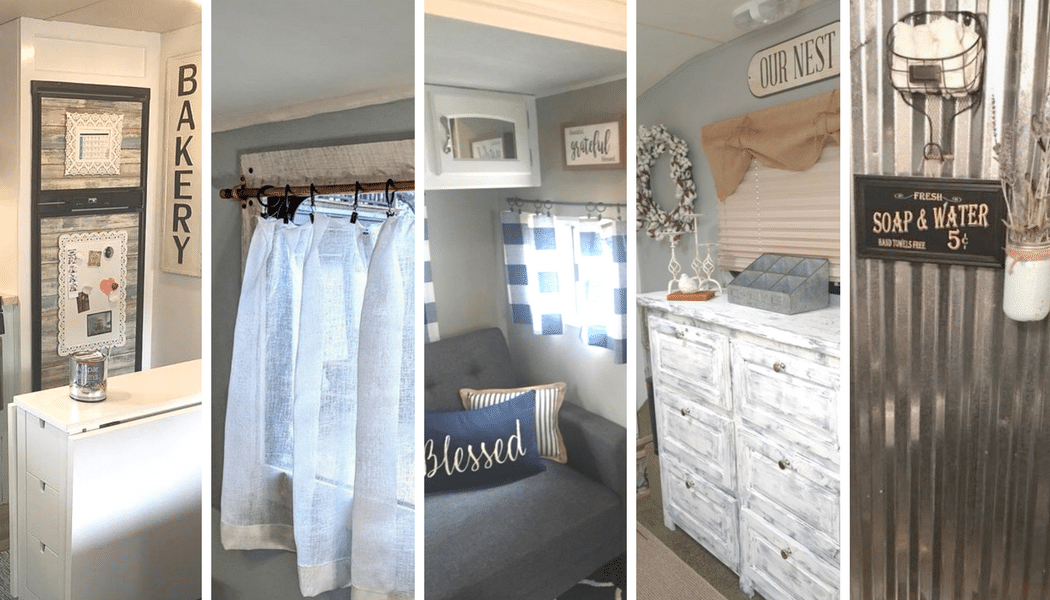 10 Farmhouse Style RV Makeovers to Inspire You