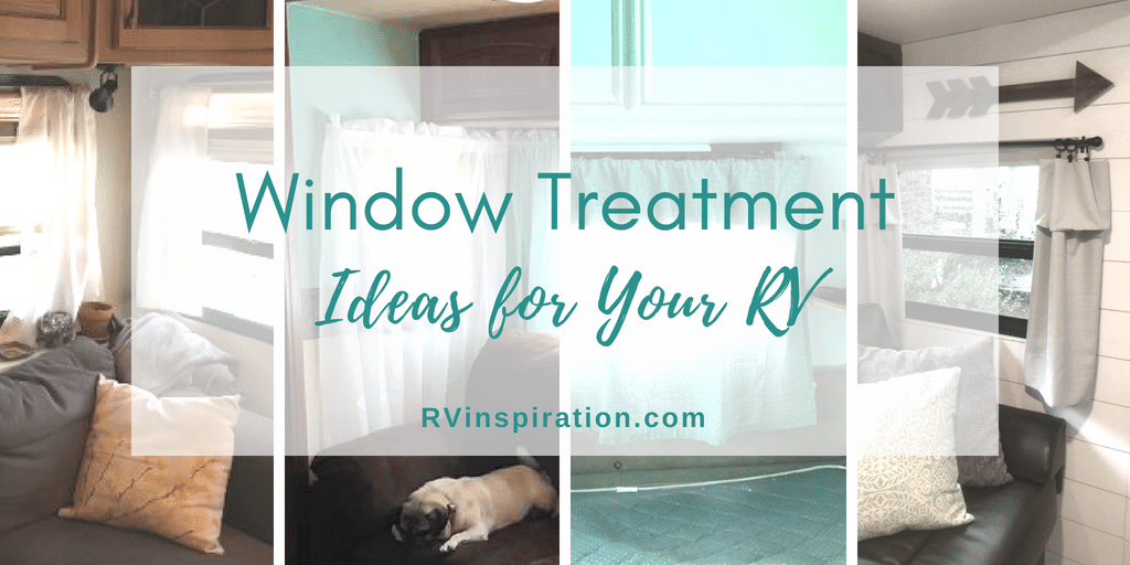 Rv Window Makeover Ideas Rv Inspiration