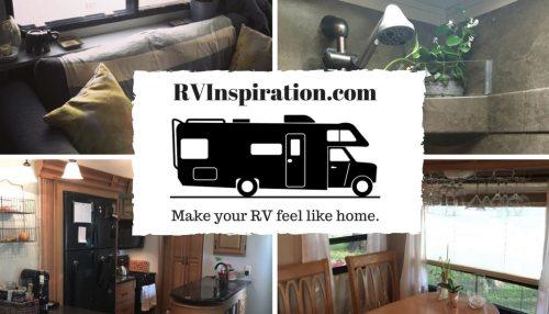 RV Inspiration: Make your RV feel like home.