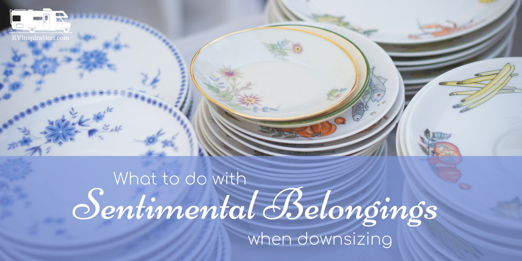 What to do with sentimental belongings when downsizing