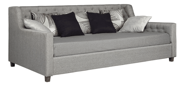 Linen daybed sleeper sofa