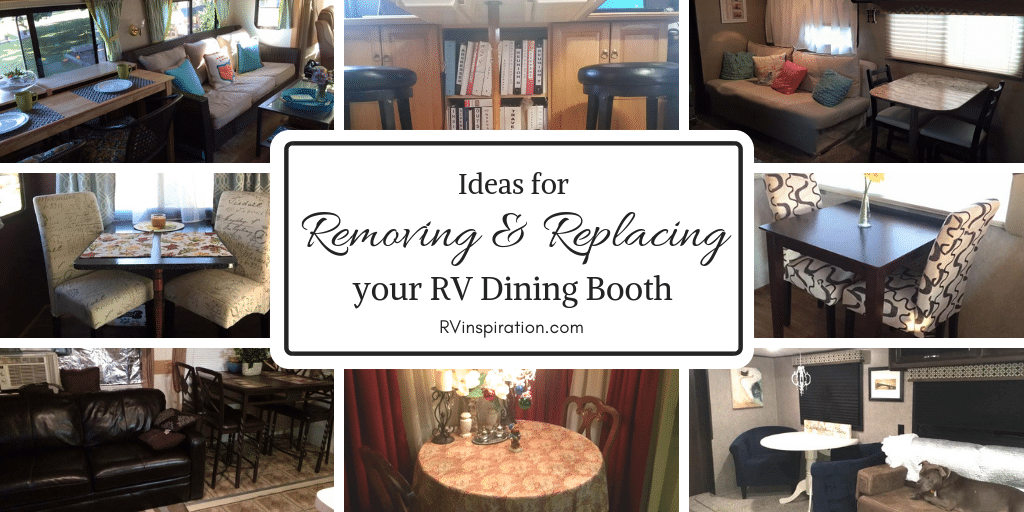RV Owners Who Replaced Their Dining Booths | RVs, Campers, Travel Trailers,  And