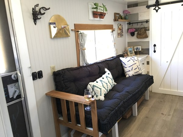 Diy Sofa Inspiration For Your Rv Rv Inspiration