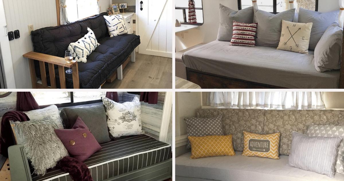 DIY Sofa Inspiration For Your RV