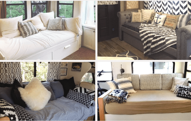 Best sleeper sofas for campers, motorhomes, and travel trailers