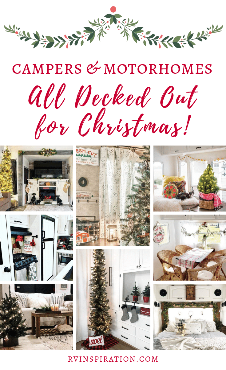 Get in the Christmas spirit as you look at these beautifully renovated and decorated RVs!   rvinspiration.com