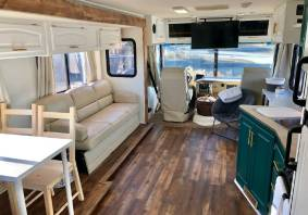 Complete motorhome renovation