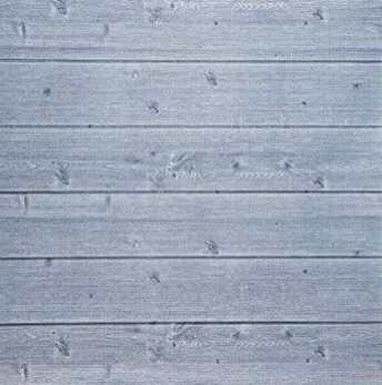 Faux wood plank foam wall covering perfect for RV makeover