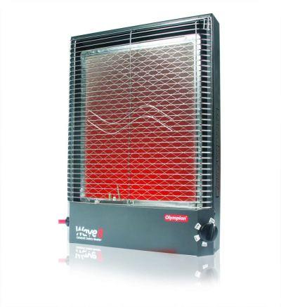 Propane heater for RV boondocking