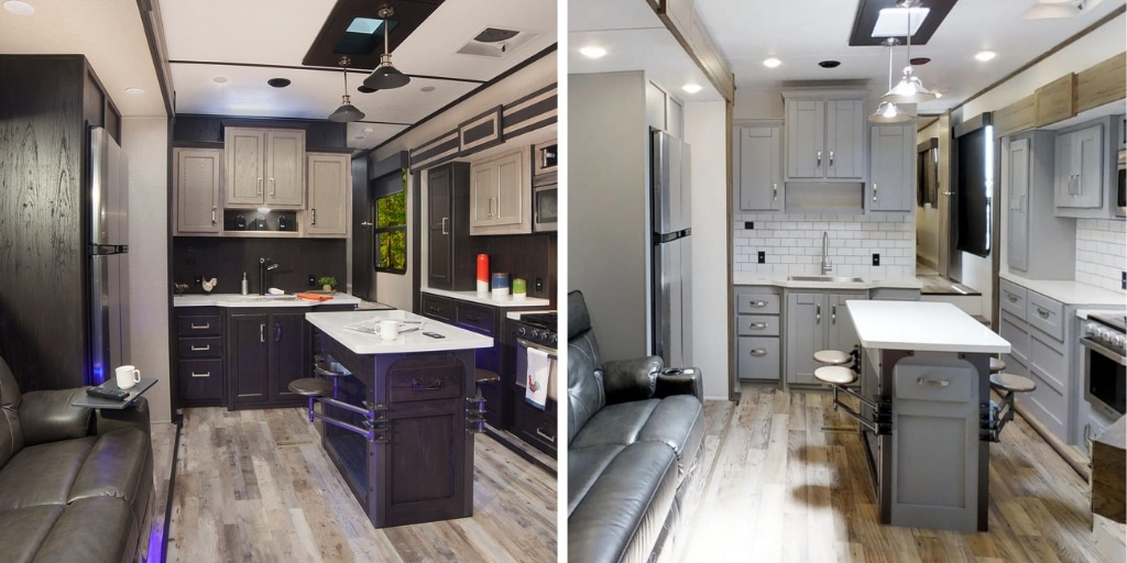 Before and after Keystone's RV makeover