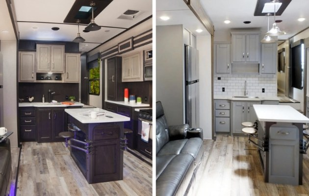 Keystone RV has given its Fuzion toy hauler line a lighter, brighter makeover.