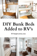 12 Rv S With Custom Built Bunk Beds Added Rv Inspiration
