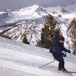 Skiing June Mountain