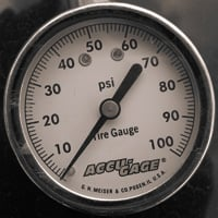 Dial gauges are generally more accurate than stick gauges.
