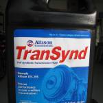 Transynd Fluid and Allison Spin-On Filter Change