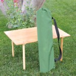 Bamboo Table is Portable