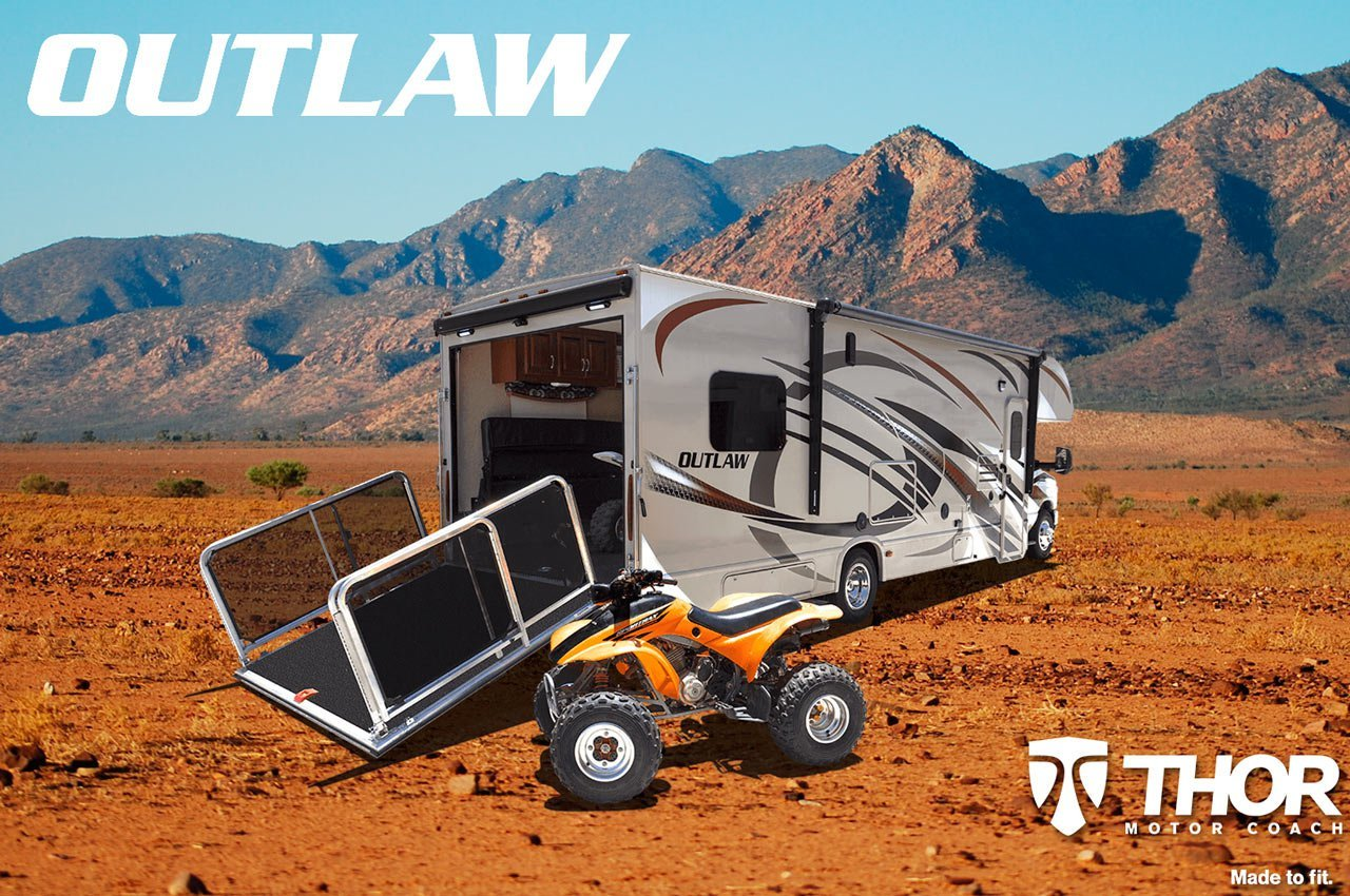 Outlaw Toy Haulers From Thor Motor Coach Continue To Impact Rv