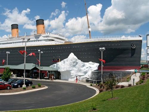 Titanic Museum, Branson, MO