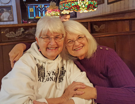 Sharlene Minshall and Marsha Pratt