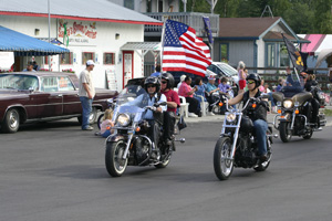Large Flages Unfurled