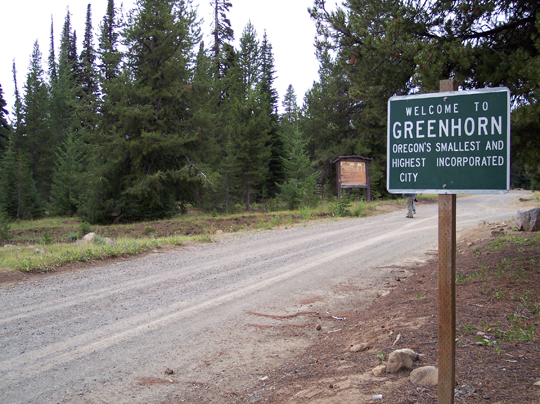 Greenhorn City Oregon