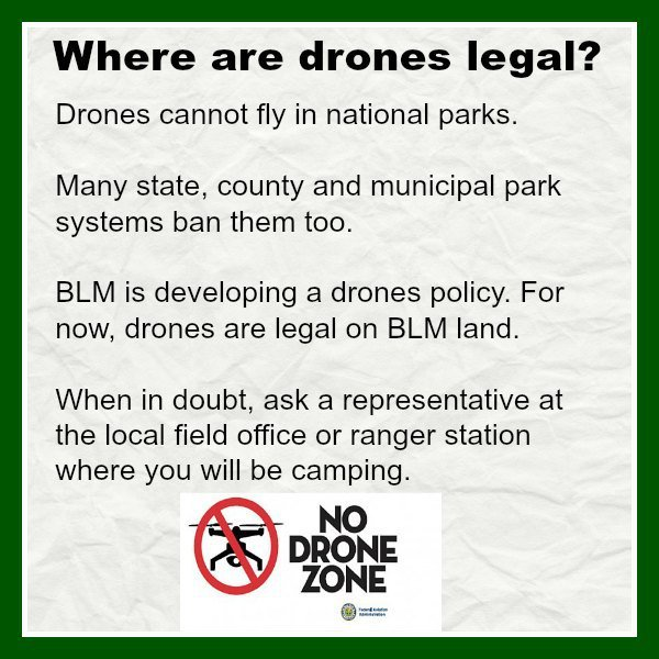 Drones and RVers
