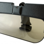 Solar-Powered Sunvisor