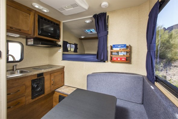 Try A Truck Camper Rental On For Size With Cruise America