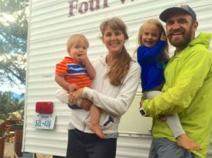 RV living with kids