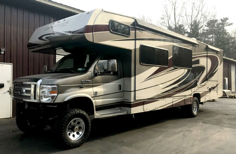 4x4 motorhome conversions what you need to know rv life for Motor lift for sale