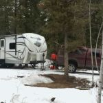 How To Park Your RV In Cold (And Hot) Weather