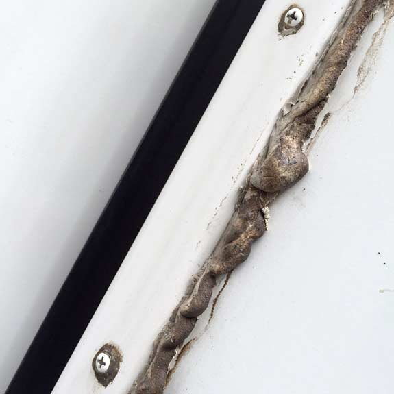 Delamination Prevention How To Seal Rv Seams With Lap Sealant