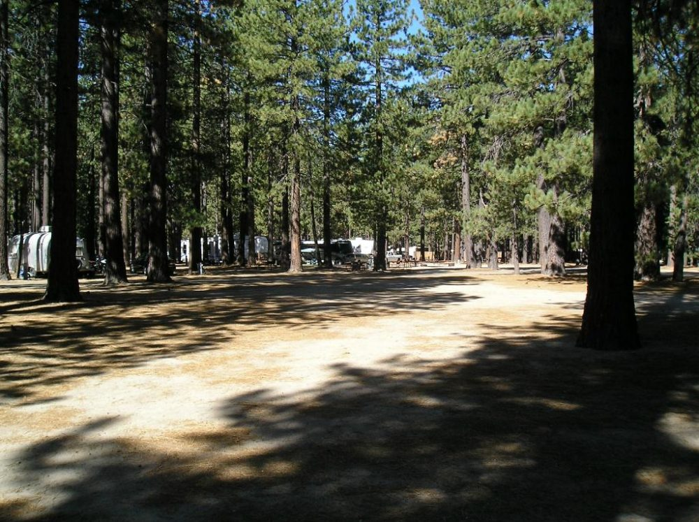 RV Parks And Golf Courses Near South Lake Tahoe, California