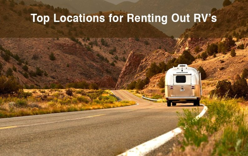 top locations for renting out rvs