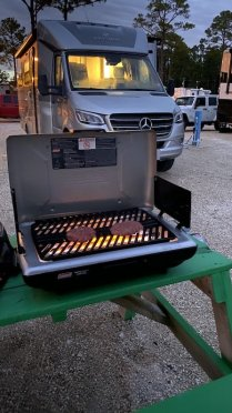 Grilling out is great newbie RV advice