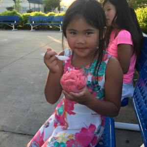 A weekend of ice cream treats, yum!