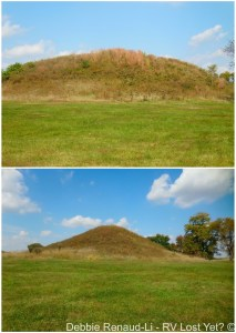 The twin mounds