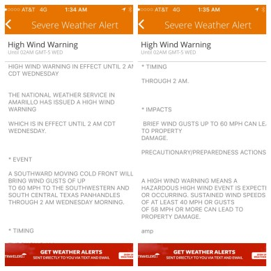 wind alert