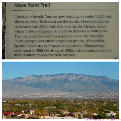 Looking at the Sandia Mountains