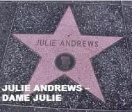 Julie Andrews - Dame Julie