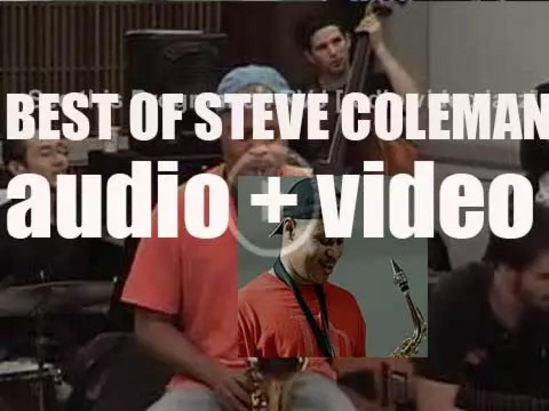 Happy Birthday Steve Coleman. 'Bluesman'
