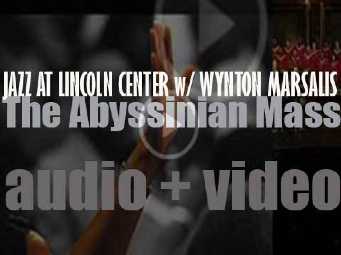Jazz at Lincoln Center Orchestra with Wynton Marsalis release 'The Abyssinian Mass' (2016)