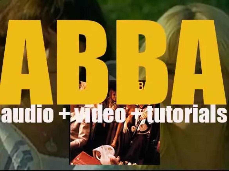 Polar publish 'ABBA,'  the Swedish quatuor's third album featuring 'Mamma Mia' & 'SOS' (1975)
