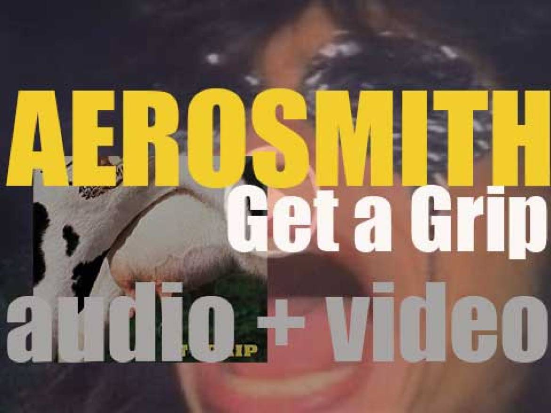 Geffen Records publish Aerosmith's eleventh album 'Get a Grip' featuring 'Livin' on the Edge' (1993)