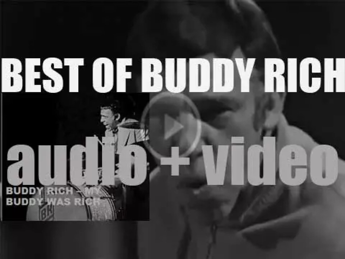 We remember Buddy Rich. 'My Buddy Was Rich'