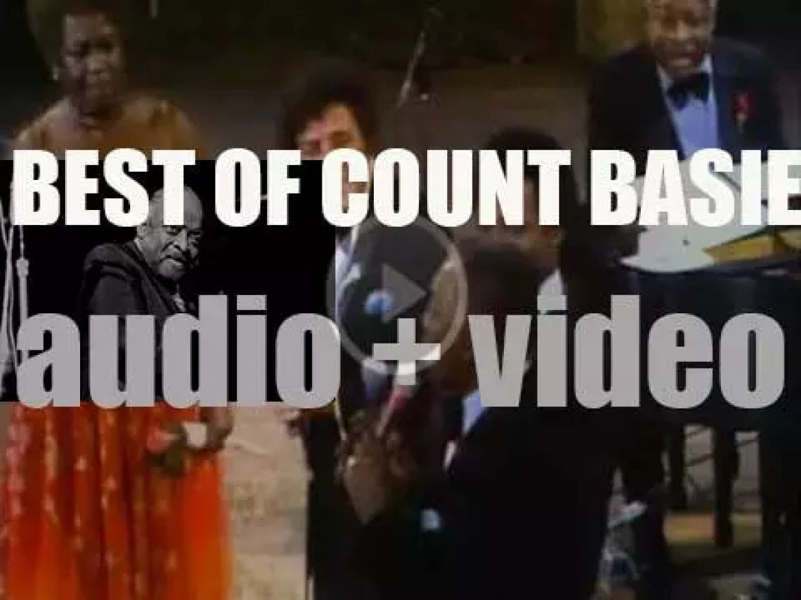 We remember Count Basie. 'For The Count'