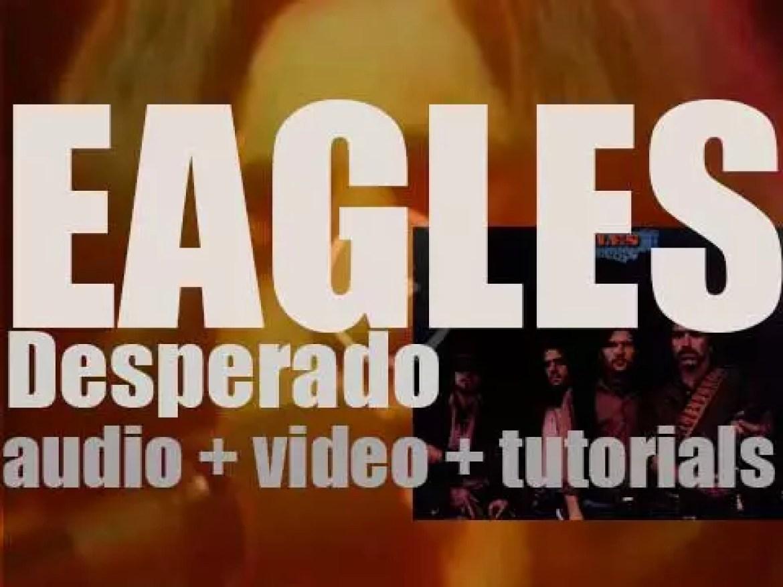 Asylum publish Eagles' second album 'Desperado' recorded in London (1973)
