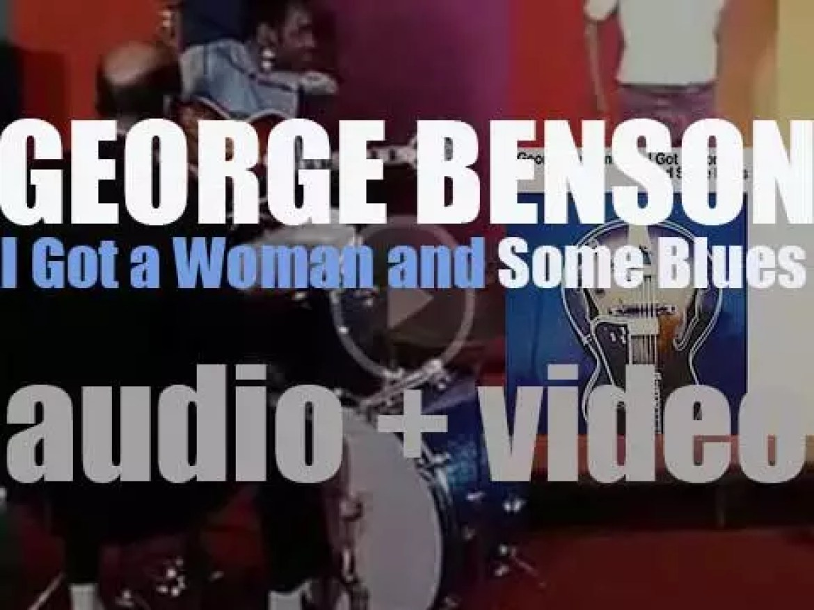 George Benson starts the recording of 'I Got a Woman and Some Blues' (1969)